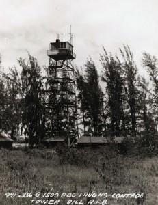 Radio antenna, Dillingham Air Force Base, August 1, 1949.
