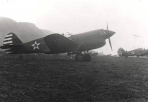 P-40s of 72nd Pursuit Squadron, Mokuleia Field, Oahu, February 1942.