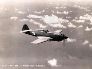 U.S. Army Air Corps P40-B August 1, 1941