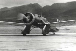 A-20 at Wheeler Field, c1940-1941.