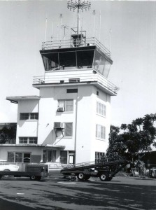 FAA Control Tower, Hilo Airport, 1950s.