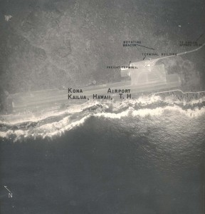 Kona Airport, Hawaii, April 21, 1955.