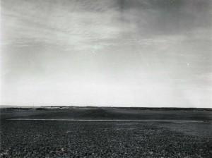 Landing strip for Kona Airport, Hawaii, February 1950.