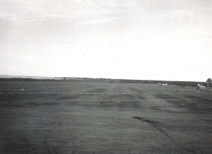 Kona Airport, Hawaii, 1950.