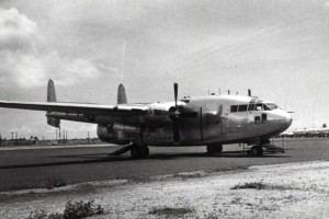C-119 based at Hickam Air Force Base from December 1958 to 1961 and assigned to the 6594th Test Group. It was replaced by the C-130.
