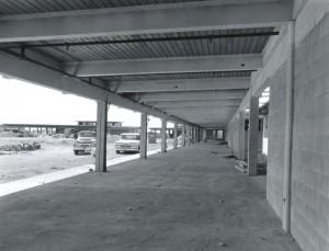 Construction of new Interisland Terminal on North Ramp, Honolulu International Airport, 1959.