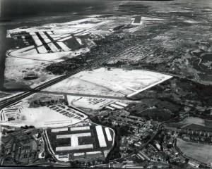 Honolulu Airport, 1950s.