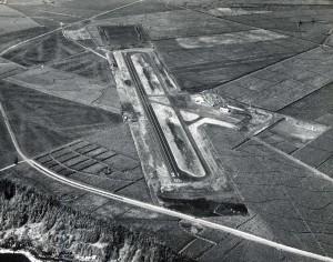 Lihue Airport, Kauai, 1950s.