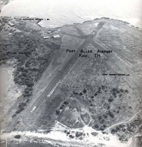 Port Allen Airport, Kauai, March 2, 1955.
