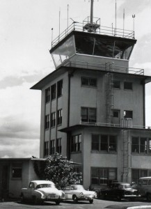 FAA Control Tower, Kahului Airport, 1950s.