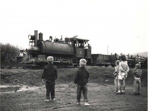 Waialua Agriculture Co. railroad last run 1953.