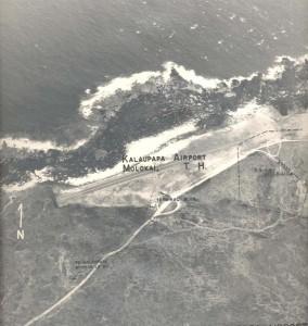 Kalaupapa Airport, Molokai, April 13, 1955.