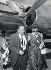 Dedication of Molokai Airport, July 6, 1957.