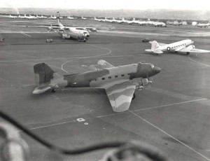 C-47 Skytrain Gooney Bird based at Hickam Air Force Base, Hawaii, from early 1950s to mid-1970s.