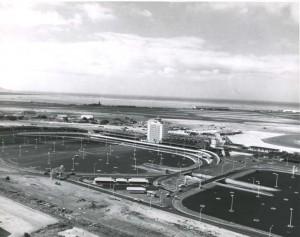 Construction of Honolulu International Airport, 1960.