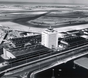It took nearly three years to construct the new Honolulu International Airport, 1961.
