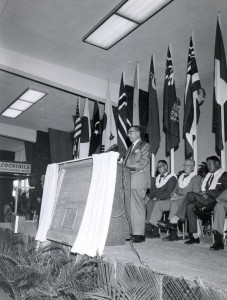 Dedication of new Honolulu International Airport Terminal, August 23, 1962.