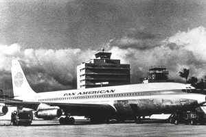 Pan American Airways at Honolulu International Airport 1960s.