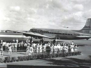 Honolulu International Airport, early 1960s.