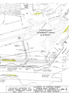 Honolulu International Airport Master Plan, 1963.