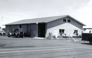 Kona Airport freight terminal, 1966.