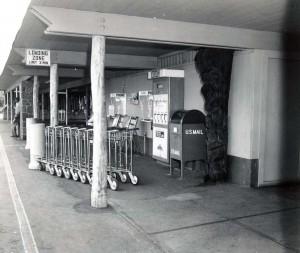 Terminal, Kona Airport, 1966.