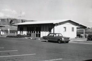 Terminal, Lanai Airport, 1960s.
