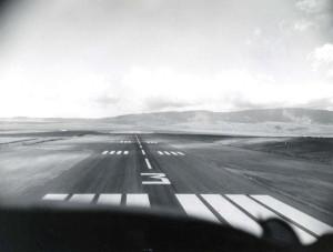 Runway, Lanai Airport, 1960s.