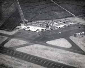 Lihue Airport, Kauai, March 1960.