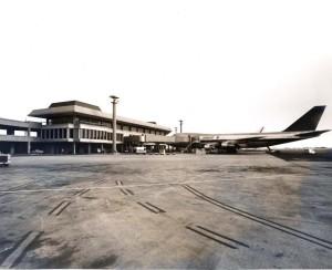 Northwest Orient at Honolulu International Airport, April 6, 1973.