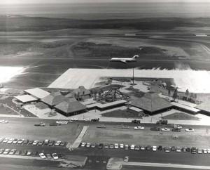 Keahole Airport, Kailua Kona, Hawaii, 1970s.