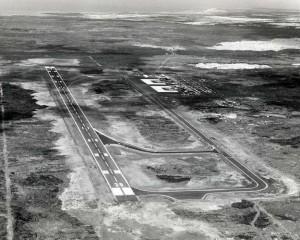 Keahole Airport, Kailua-Kona, Hawaii 1970s.