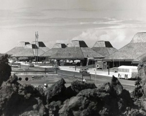 Kona Airport construction, 1970s