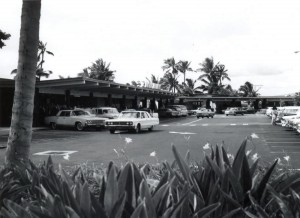 Honolulu International Airport, Aloha Passenger Terminal, 1970s.
