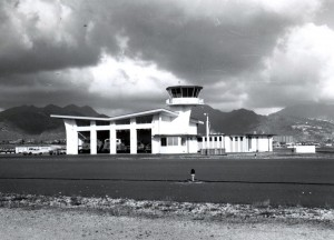 Honolulu International Airport Crash Fire Rescue Station, 1970s.