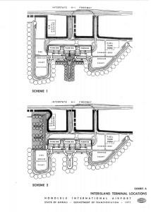 Honolulu International Airport Master Plan, 1971.