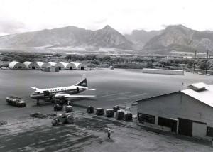 Kahului Airport, 1970s.