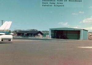Kahului Airport, August 11, 1975