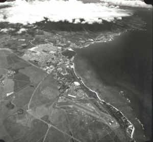 Kahului Airport, Maui, July 1, 1975.