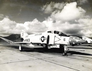 UMFA-235 F-4 Death Angels at Marine Corps Air Station Kaneohe, 1970s.