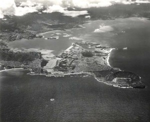 Mokapu Peninsula, Kaneohe Bay, Hawaii, home of the Marine Corps Air Station, 1973.