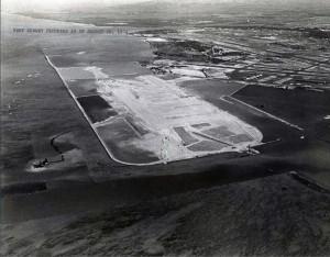 Reef Runway Construction, Honolulu International Airport August 26, 1974