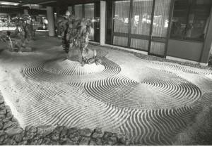 Sand Garden, Hilo Airport, Hawaii, February, 1984.