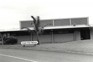 Crash Fire Rescue Station, General Lyman Field, Hilo, Hawaii, 1985.