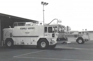 Aircraft Rescue and Fire Fighting Station, Keahole Airport, Kailua-Kona, Hawaii, 1980s.