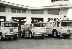 Crash Rescue, Honolulu International Airport, 1985.
