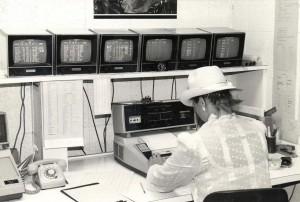 Communications Office, Honolulu International Airport, 1984.