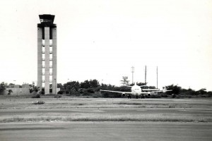 New Federal Aviation Administration Control Tower, Honolulu International Airport, 1984.
