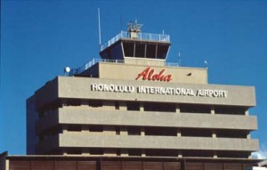 Administration Tower, Honolulu International Airport, 1987.