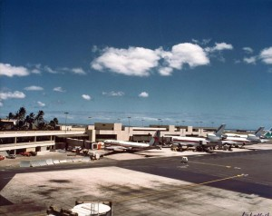 Honolulu International Airport, 1981.